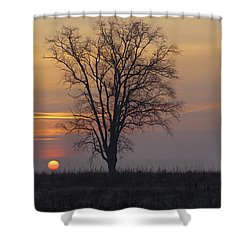 Sunday At Dawn Shower Curtain