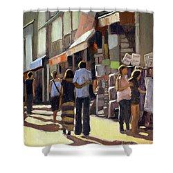Sunday Bazaar Shower Curtain