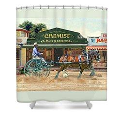 Sunday Best Shower Curtain