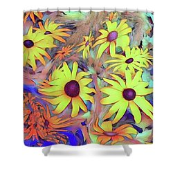Sunday Flower Shower Curtain