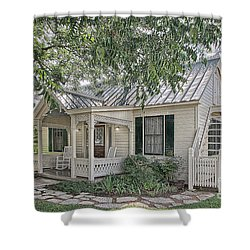 Sunday House Cottage Shower Curtain