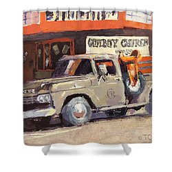 Sunday Morning In Wickenburg Shower Curtain