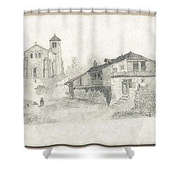Sunday Service Shower Curtain