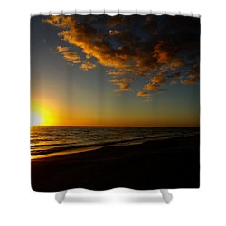 Sunday Sunset Redington Beach Shower Curtain