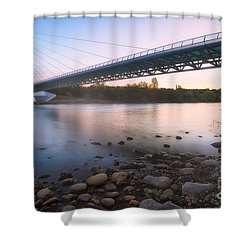 Sundial Bridge 7 Shower Curtain