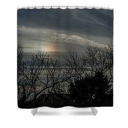 Sundog Shower Curtain by Karen Slagle