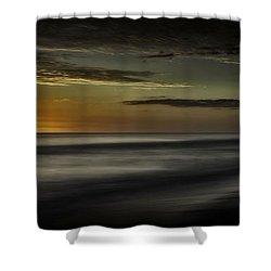Sundown At Santa Rosa Beach Shower Curtain by Walt Foegelle