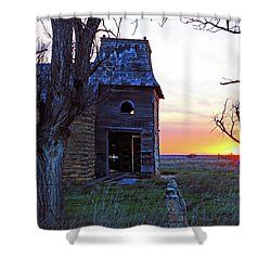 Sundown Church Shower Curtain