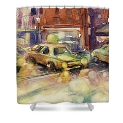 Sundrops Shower Curtain by Judith Levins