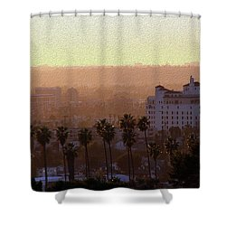Sunet Colors Shower Curtain