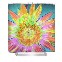 Sunfeathered Shower Curtain