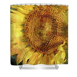 Sunflower 2254 Idp_2 Shower Curtain