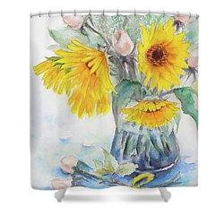 Sunflower-4 Shower Curtain
