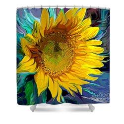 Sunflower For Van Gogh Shower Curtain