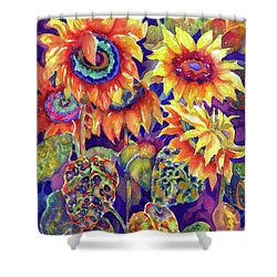 Sunflower Garden I Shower Curtain