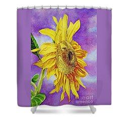 Sunflower Gold Shower Curtain