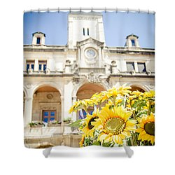 Shower Curtain featuring the photograph Sunflower by Jason Smith