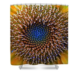 Sunflower Jewels Shower Curtain