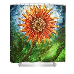 Sunflower Joy Shower Curtain