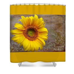 Sunflower Serenade Shower Curtain