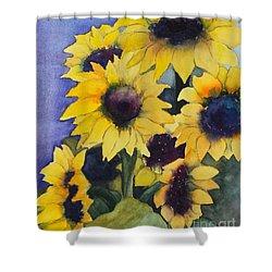 Sunflowers 17 Shower Curtain