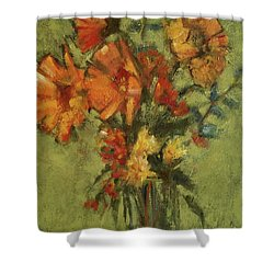 Sunflowers For Sunday Shower Curtain