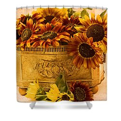 Sunflowers Galore Shower Curtain