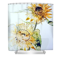 Sunflowers II Shower Curtain