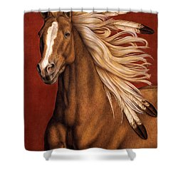 Sunhorse Shower Curtain