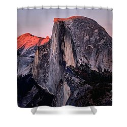 Sunkiss On Half Dome Shower Curtain