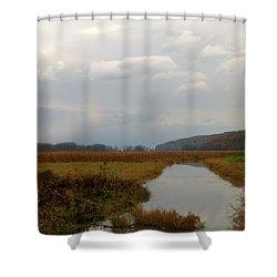Sunless Rainbow Shower Curtain