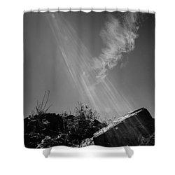 Sunlight Shower Curtain by Andrey  Godyaykin