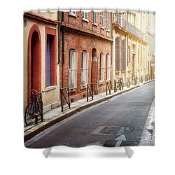 Shower Curtain featuring the photograph Sunlight In Toulouse by Elena Elisseeva