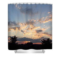 Sunlight Inspiration Shower Curtain