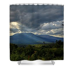 Sunlight On Katahdin Shower Curtain