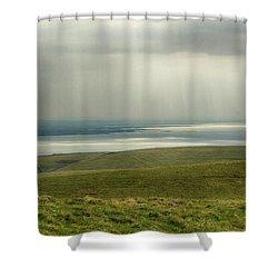 Sunlight On The Irish Coast Shower Curtain