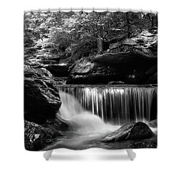 Sunlight On Waterfall Shower Curtain