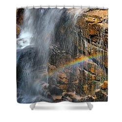 Sunlight's Mirage Shower Curtain