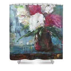 Sunlit Bouquet Shower Curtain