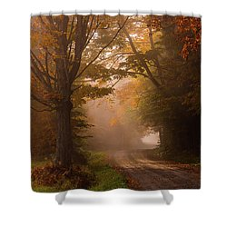 Serenity Of Fall Shower Curtain