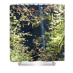 Sunlite Silver Falls Shower Curtain