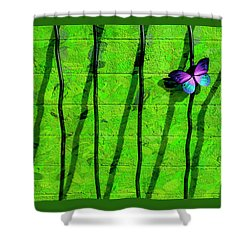 Shower Curtain featuring the photograph Sunning by Paul Wear