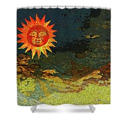 Sunny 1 Shower Curtain by Bruce Iorio