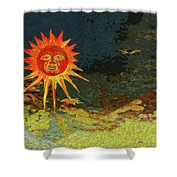 Sunny 3 Shower Curtain by Bruce Iorio