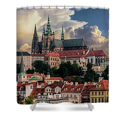 Sunny Afternoon In Prague Shower Curtain