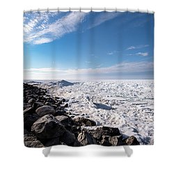 Shower Curtain featuring the photograph Sunny Afternoon by Onyonet  Photo Studios
