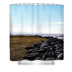 Shower Curtain featuring the photograph Sunny Afternoon-t1 by Onyonet  Photo Studios
