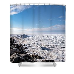 Shower Curtain featuring the photograph Sunny Afternoon-t2 by Onyonet  Photo Studios