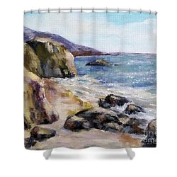 Sunny Coast Shower Curtain