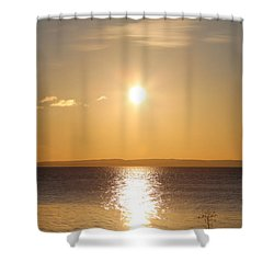 Sunny Day By The Oslo Fjords.  Shower Curtain